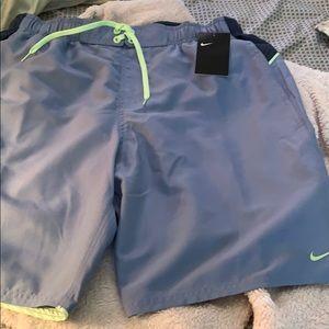 NWT Nike Swimming Trunks Size L
